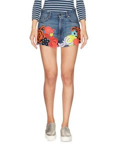 CHRISTOPHER KANE Denim Shorts. #christopherkane #cloth #dress #top #skirt #pant #coat #jacket #jecket #beachwear #
