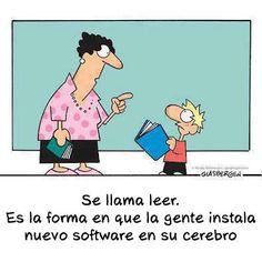 LEER instala un nuevo software wn tu cerebro