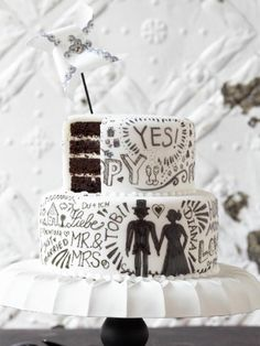 #Hochzeitstorte #individuell #Schokolade #Torte #Rezept #selbermachen