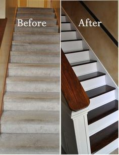 62. Rip Off Carpet Stairs for Beautiful Wooden Ones