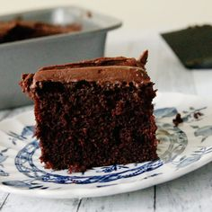 Chocolate Depression Cake-this recipe originates from the Great Depression. Also known as a Crazy Cake or Wacky Cake, it's also egg-free and dairy free for those with allergy issues My grandparents were all born in 1917/1918. When the Great Depression hit, they were old enough to understand why they had to rationand do without many...