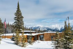 Modern Montana Mountain Home — Style Estate