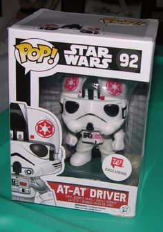 STAR WARS AT AT DRIVER STORMTROOPER FUNKO POP WALGREENS EXCLUSIVE