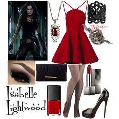Isabelle Lightwood by harrietsandy on Polyvore featuring mode, Emilio De La…