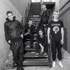 the nbhd / the neighbourhood jesse rutherford zach abels