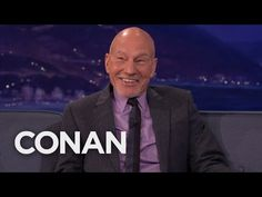 "Team Coco: Sir Patrick Stewart: Seth McFarlane Geeked Out Meeting The ""Next Generation"" Cast"