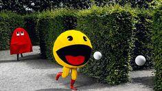 PAC - MAN running costume?! Pac Man, Troll, Classic Video Games, Retro Video Games, Retro Games, Red Dead Redemption, Gta 5, Videogames, Soccer
