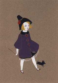 "illustratedladies: "" wool and water / amy earles """