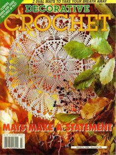 Decorative Crochet Magazines 39 - Gitte Andersen - Álbuns da web do Picasa Crochet Mat, Crochet Doily Diagram, Crochet Doily Patterns, Crochet Cross, Tunisian Crochet, Thread Crochet, Filet Crochet, Irish Crochet, Crochet Doilies