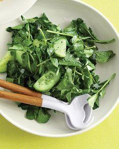 Watercress and Cucumber Salad