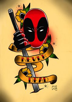 deadpool tattoo - Google Search