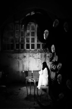 Nyctophobia is the clinical term for fear of the dark. Image by Neriak ~ Never thought about it before, but I may have a slight case of this, considering I usually never sleep in the dark. Then again I never sleep. Wonder why?