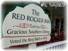 Book a romantic getaway at The Red Rocker Inn in Black Mountain NC #avl... voted the Best B&B in Western North Carolina
