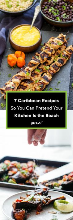 A trip to the tropics, without the airfare.    #greatist http://greatist.com/eat/caribbean-recipes-to-help-pretend-your-kitchen-is-a-beach