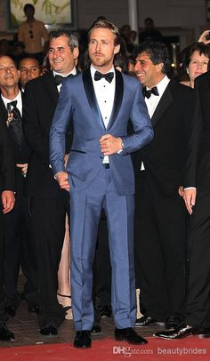 Custom Made Slim Fit Two Buttons Navy Blue Business Groom Tuxedos Color Butyl Process Shawl Lapel Groomsmen 2014 Men Wedding Suits