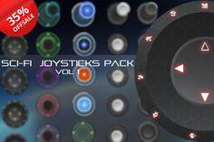 Sci-Fi Joysticks Pack Vol 1 by Creativer Studio on Creative Market