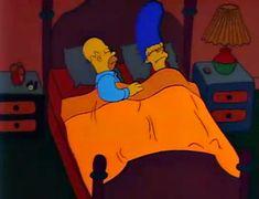 The Simpsons Gifs The Simpsons Tv Show, Simpsons Art, Goat Cartoon, Cartoon Pics, Bart Simpson, Homer And Marge, Himym, Futurama, Aesthetic Art