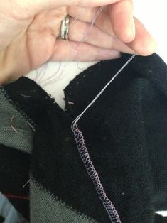 How to Unpick Serged Seams (Overlooked Seams).