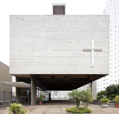 Igreja São Bonifácio. Hans Broos. 1965