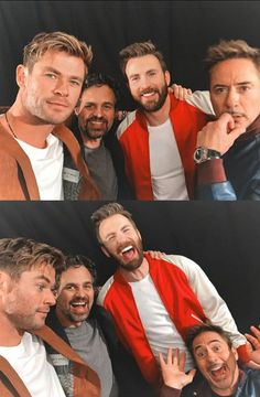 Avengers buddies – – Farah's Secret World - Marvel movies Marvel Captain America, Marvel Actors, Marvel Funny, Marvel Characters, Marvel Heroes, Marvel Movies, Marvel Avengers, Chris Evans, Marvel Cartoons