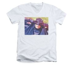 Batman Classic TV - Smooth Groove Adult V-Neck T-Shirt