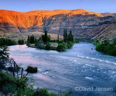 Deschutes River, Oregon - whitewater rafting/mountain climbing trip.