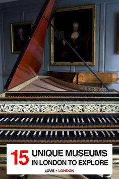 The coolest and most interesting museums to visit in London. Great for London tourists who want to go off the beaten path! Pictured: Handel and Hendrix Museum, London Leighton House Museum, Cartoon Museum, North Garden, London Tips, British Garden, Free Museums, Heritage Center, London Museums, 12th Century