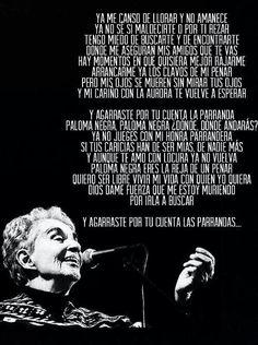 letras llorona: