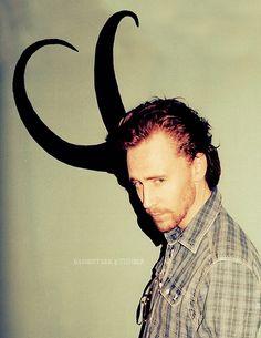 Tom Hiddleston - Loki  I adore him!!!