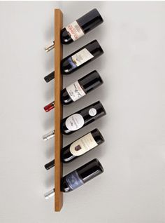 Wine Racks Made From Recycled Pallet Wood See more http://www.recyclart.org/2015/12/wine-racks-made-recycled-pallet-wood/