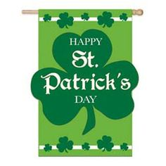 Happy St Patrick's Day House Banner