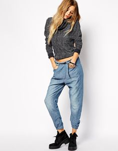 G+Star+Chambray+Trousers