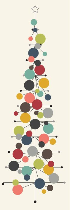 Christmas Tree Illustration Design Mid Century 61 Ideas For 2019 Christmas Tree Wallpaper, Retro Christmas Tree, Retro Christmas Decorations, Modern Christmas Decor, Christmas Tree Design, Little Christmas Trees, Vintage Christmas Cards, Vintage Ornaments, Christmas Art