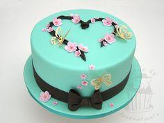 Cherry blossom spring cake