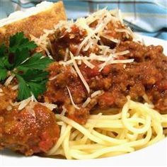 Meat-Lover's Spaghetti Sauce - Allrecipes.com