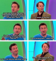 "When Lee revealed a secret to David's parents. | 26 Times ""Would I Lie To You?"" Was The Best Show On Television"