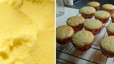 Ice cream muffins - 2 Ingredients