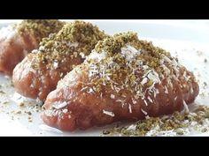 Se toarnă uleiul care fierbe în făină și se frământă. - YouTube Baked Potato, Dessert Recipes, Bread, Ethnic Recipes, Food, Lemon Biscotti, Delicious Recipes, Box Lunches, Wafer Cookies