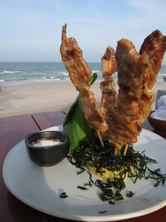 Moo ping  Thai food