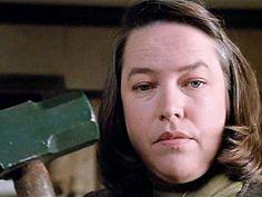 """Kathy Bates in """"Misery"""" (Rob Reiner, 1990)"""