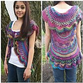 This is an adaptation of another designer's pattern. Out of respect for that designer's copyright, the first portion of this pattern can be found by following the links contained within the pattern document.