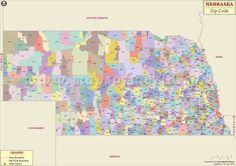 North Dakota Zip Code Map North Dakota Postal Code Zip code map