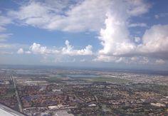 Sobrevoando Miami