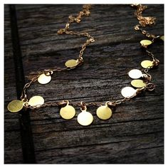Mini Coins Necklace  by cocowagner