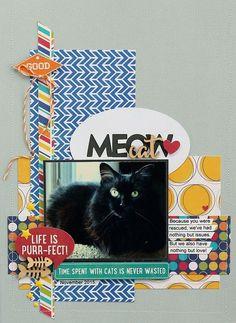 Meow Cat by Sarah Webb featuring Jillibean Soup Fur Fusion