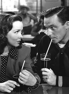 Gene Kelly and Kathryn Grayson in 'Anchors Aweigh'. Love this movie