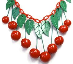 Red Cherry Necklace,