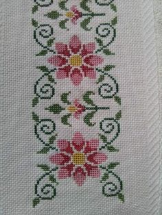 Cross Stitch Letters, Cross Stitch Bookmarks, Cross Stitch Borders, Cross Stitch Rose, Cross Stitch Flowers, Cross Stitch Designs, Cross Stitching, Cross Stitch Embroidery, Embroidery Patterns