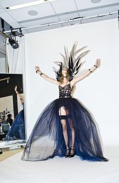 Yes, it was as major as this looks. http://www.thecoveteur.com/behati-prinsloo-victorias-secret/