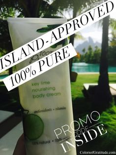 EXCLUSIVE PROMO INSIDE // 🌴Island-approved beauty from 100% Pure now on ze blog. Promo code's time sensitive, expires Tue 4/11 at 11:59 PT. Get your goodies & extra treats. Deets 🌴http://www.colorsofgratitude.com/island-approved-beauty-100-pure-promo-code-treats-inside/ #beauty